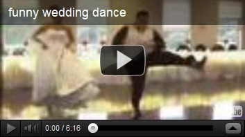 funny wedding dances