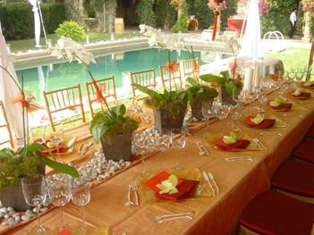 VINTAGE POOLSIDE WEDDING PARTY