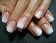 ombre french manicure los cabos