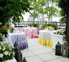 ombre wedding tables los cabos