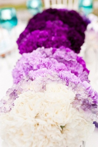 ombré the latest wedding trends