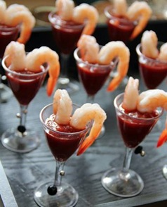 cabo mini shrimp cocktail