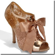 badgley bridal booties