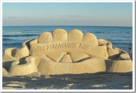 cabo beach wedding proposal