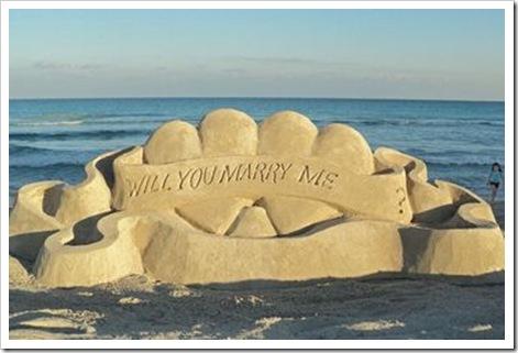 cabo beach wedding proposal