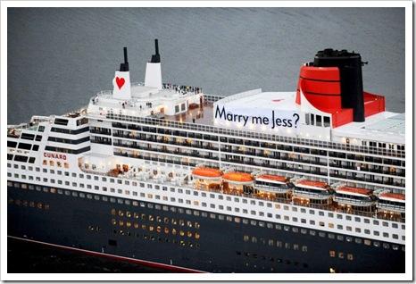 cruise ship proposal