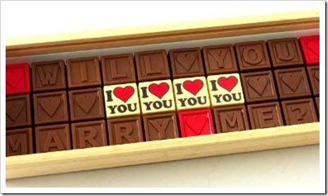 marry me chocolates