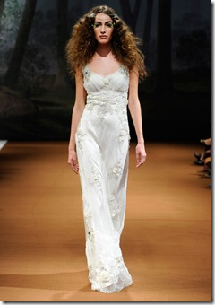 Claire Pettibone crescent wedding dress