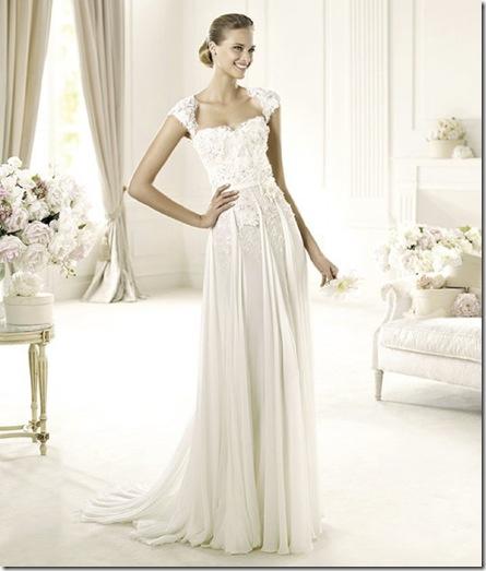Elie Saab Pronovias galant dress