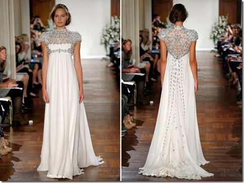 Jenny Packham jeweled back