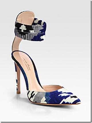 ikat shoe