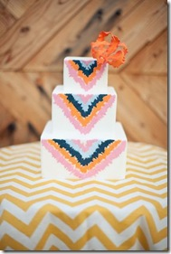 ikat tri colored cake