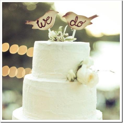 we do bird wedding cake toppers