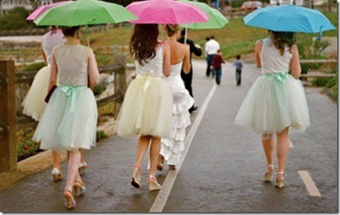 tutu bridesmaids skirts