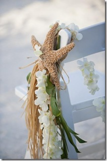 beack wedding ceremony decor