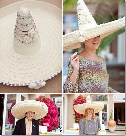 wedding sombreros