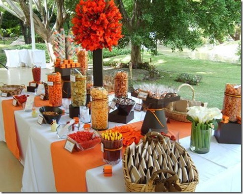mexican wedding candy bar