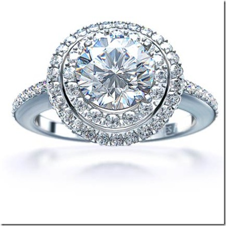 big diamond engagement ring